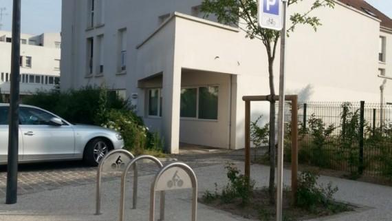 Arceau vélo mobilier urbain