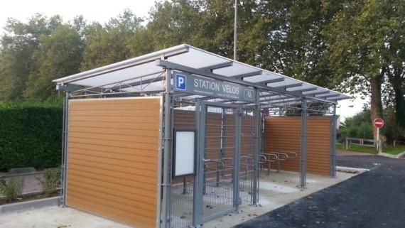 consigne vélos stationnement dans l'espace public