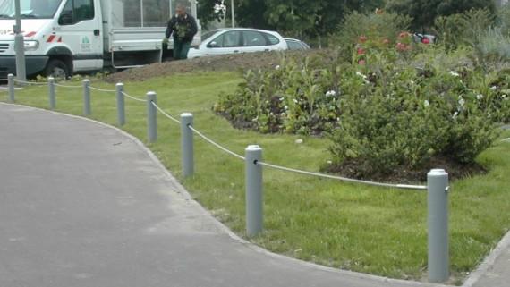 Protection de pelouse espace urbain