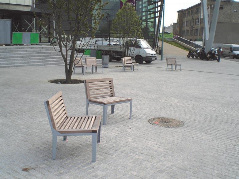 Banc urbain banc espace public banc public for Mobilier urbain espace public