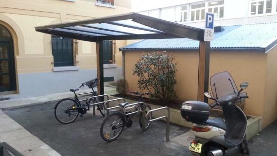 abris vélos stationnement 2 roues