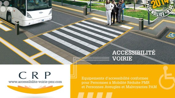 accessibilité pmr catalogue mobilier urbain