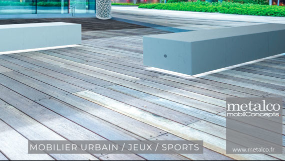 catalogue de mobilier urbain