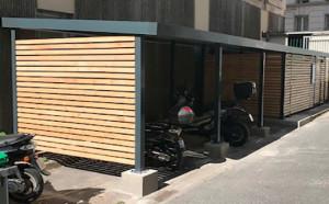 Consigne vélo moto FORAFLOR mobilier urbain